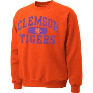 NCAA   Clemson Tigers Orange Piller Crewneck Sweatshirt