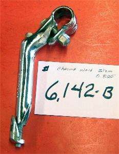 VINTAGE BICYCLE STEM , CHROME FITS HUFFY, MURRAY , 0.820