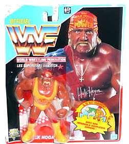 WWF WWE Hasbro Hulk Hogan Figure Series 3 New Moc