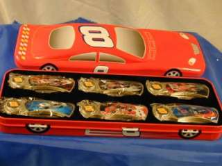 Dale Earnhardt Jr # 8   6 Knife Set in Car Display Case   Mint