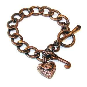 Juicy Couture Jewelry Rose Gold Starter Charm Bracelet Jewelry