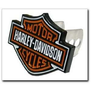 2216 Harley Davidson Full Color Aluminum Hitch Plug Automotive