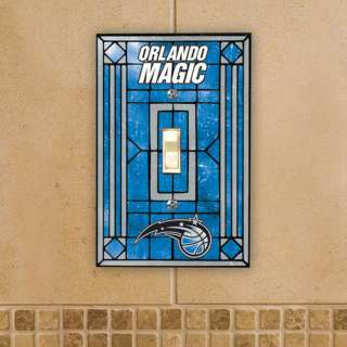 NBA   Orlando Magic Art Glass Light Switch Cover