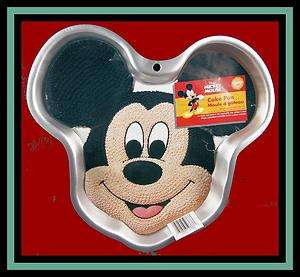 NEW Wilton ***MICKEY MOUSE FULL SIZE FACE PAN w/INSERT*** #3603