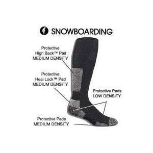Thorlos Wool/Thor Lon Merino Wool Snowboard Socks Sports