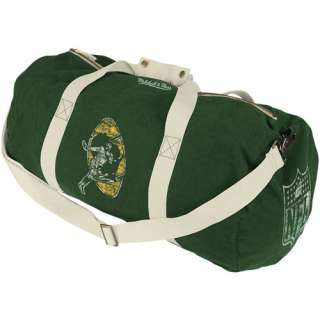 Green Bay Packers Green Vintage Canvas Duffel Bag 887609977632