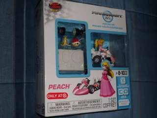 Nintendo Super Mario Kart Wii Princess Peach Micro RC Car Remote