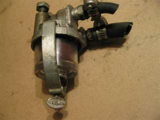 fuel filter bowl 1950s Johnson 10 hp QD 14 used outboard parts