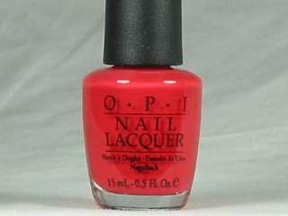 OPI Nail Polish MOST HONORABLE RED J12 Discontinued |