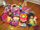 GROOVY GIRLS HUGE LOT FURNITURE, HORSE, CAR, VANITY, DOLLS BED SALON