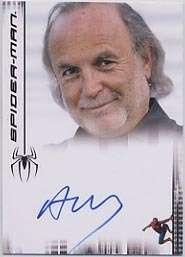 SPIDERMAN 3 AVI ARAD PRODUCER AUTOGRAPH *VERY LIMITED*