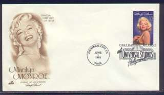 1995 MARILYN MONROE ~ LEGENDS OF HOLLYWOOD ~ ART CRAFT FIRST DAY COVER