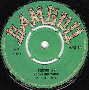 SOUND DIMENSION, POISON IVY, BAMBOO
