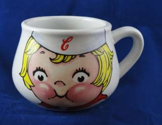 Campbells Soup Kid by Houston Harvest 1998 Coffee Mug 3 1/4 Excellent
