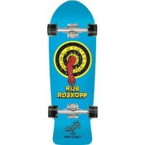 Santa Cruz Roskopp Target Complete Skateboard   10x31.4