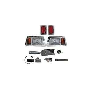 DELUXE Street Package Chrome Light Kit for Yamaha Golf