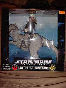 COLLECTOR SERIES HAN SOLO & TAUNTAUN 12 FIGURE TOYS R US EXCLUSIVE