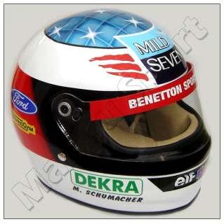 Michael Schumacher F1 World Champion 1994 Replica Helmet. Real