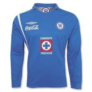 Cruz Azul 2007 LS Home Soccer Jersey: Sports & Outdoors