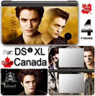 EDWARD TWILIGHT NEW MOON ECLIPSE SKIN COVER DSi XL LL 1
