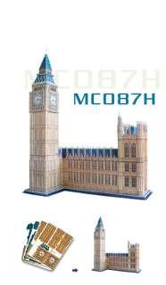 Big Ben in London,UK Supreme 3D Puzzle World Architecture series
